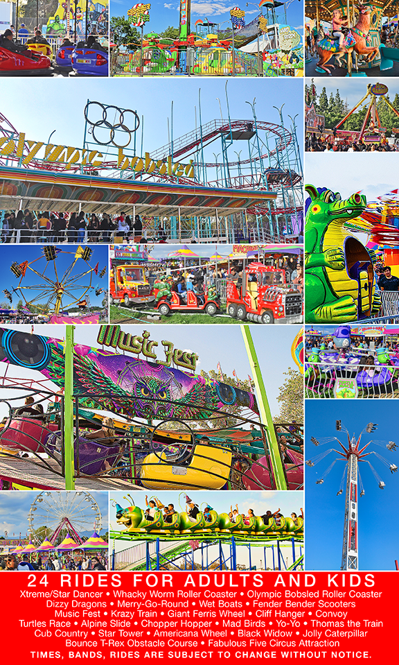 LA Fall Fair Unlimited Carnival Rides