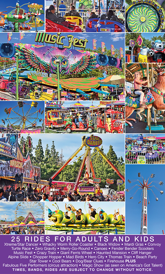 LA Spring Fair Unlimited Carnival Rides